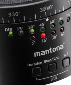 mantona Turnaround 360 Automatic II Stativkopf