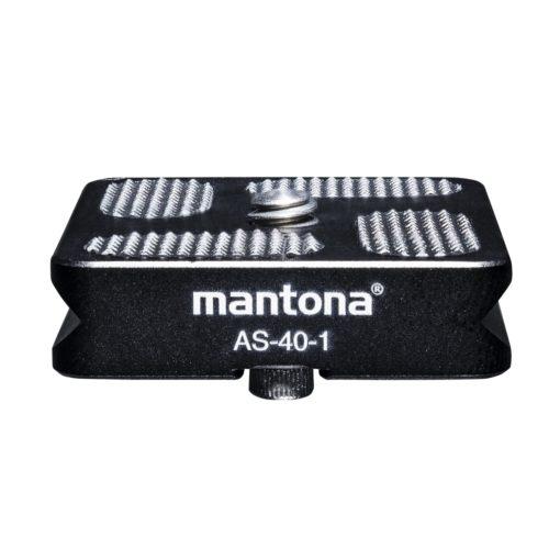 mantona AS-40-1 Schnellwechsel-Platte