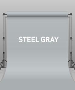 BD Hintergrund Papier Steel Gray