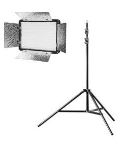 walimex pro LED 500 Versalight BiColor mit Stativ