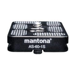 mantona AS-60-1S Schnellwechsel-Platte