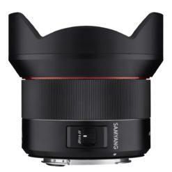 Samyang 14/2,8 AF für Canon EF