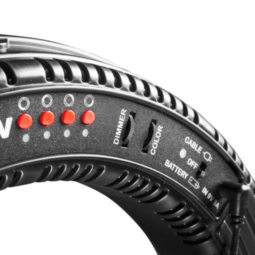 walimex pro LED Ringleuchte 380 BiColor RLL-380BV