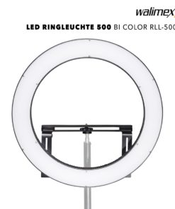 walimex pro LED Ringleuchte 500 BiColor RLL-500BV