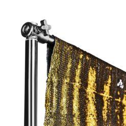 walimex pro Pailletten-Hintergrund gold