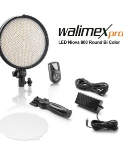 walimex pro LED Niova 800 Plus Round BiColor