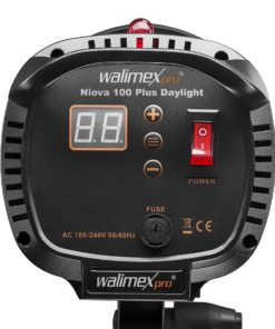 walimex pro LED Foto Video Studioleuchte Niova 100 Plus Daylight