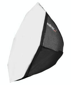 walimex pro Softbox Octagon 80cm für Niova 800 Round LED