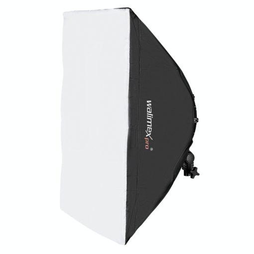 walimex pro Softbox 50x70cm für Niova 800 Round LED