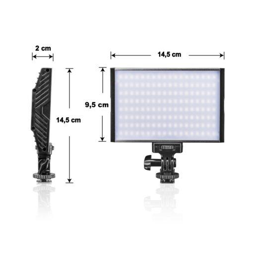 walimex pro On Camera LED Niova 150 BiColor