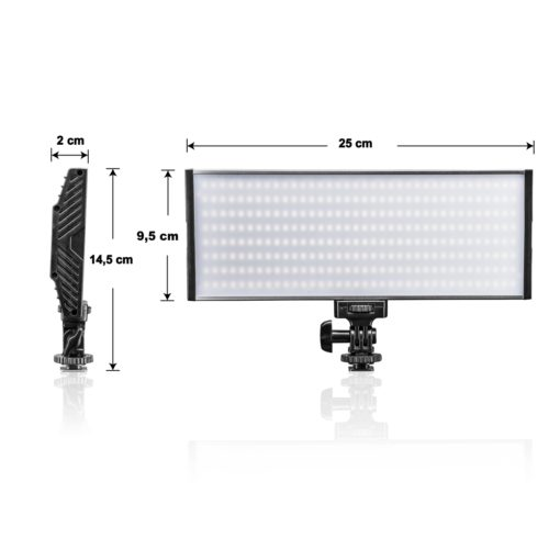 walimex pro On Camera LED Niova 300 BiColor
