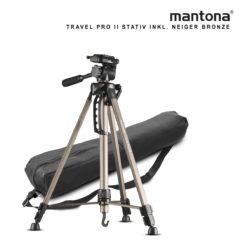 mantona Basic Travel Pro II, bronze