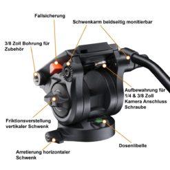 walimex pro Fluid Videoneiger VFP-062