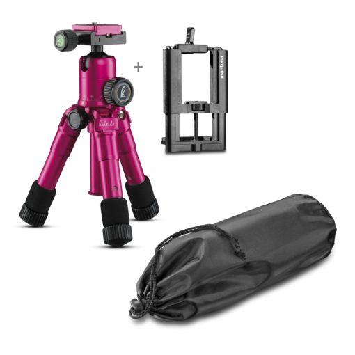 Mantona kaleido Mini glamour pink + Halterung