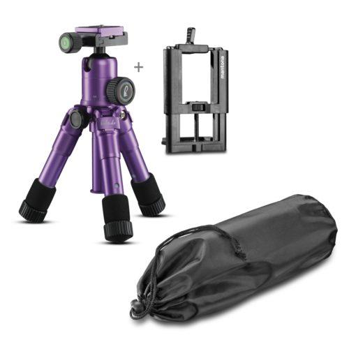 Mantona kaleido Mini light purple + Halterung