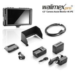 "walimex pro 4,5"" Camera Assist Monitor 4K IPS Set"