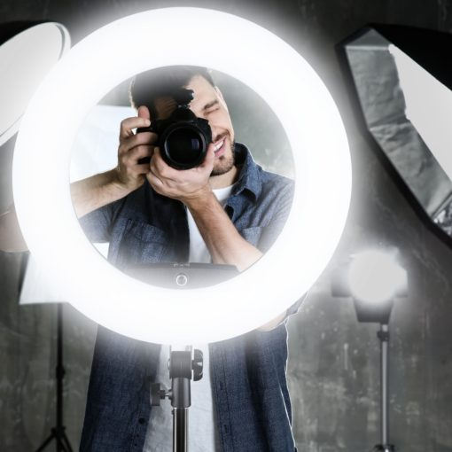 walimex pro LED Ringleuchte Medow 960 BiColor