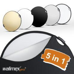 walimex pro 5in1 Faltreflektor wavy comfort mit Griffen