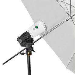 40Ws Synchroblitzlampe, weiß