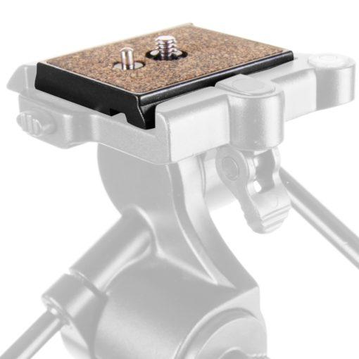 mantona Schnellwechsel-Platte für TPH 2. VI 3D Neiger