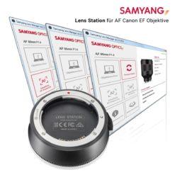 Samyang Lens Station für AF Canon EF Objektive