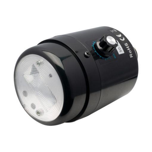 synchroblitzlampe 50 dimmbar.