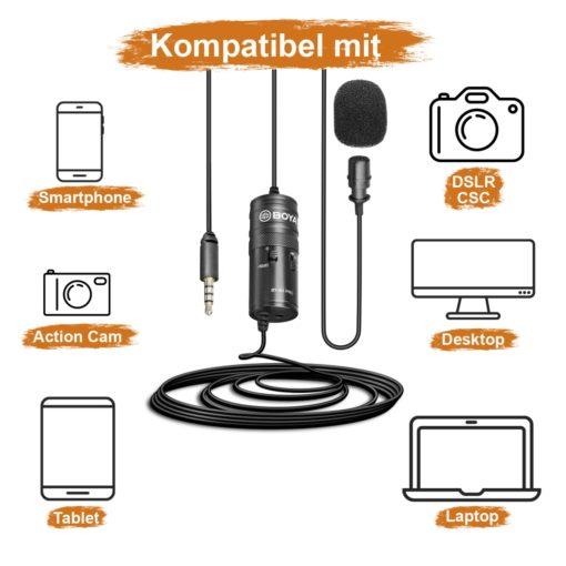 Boya M1 Pro Ansteckmikrofon