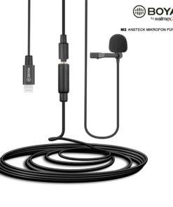 Boya M2 Ansteckmikrofon für iOS