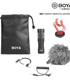 Boya MM1 Kompaktmikrofon universal