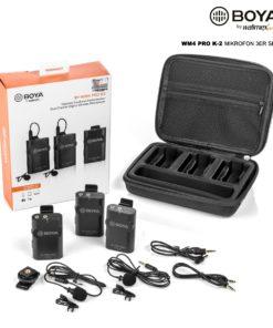 Boya WM4 Pro K-2 Mikrofon 3er Set