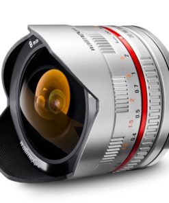 walimex pro 8/2,8 Fisheye I APS-C für Samsung NX, silber