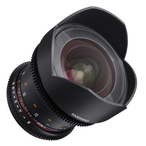 Samyang 14/3,1 II Video DSLR für Nikon F