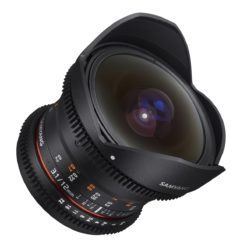 Samyang 12/3,1 Fisheye Video DSLR für Canon EF