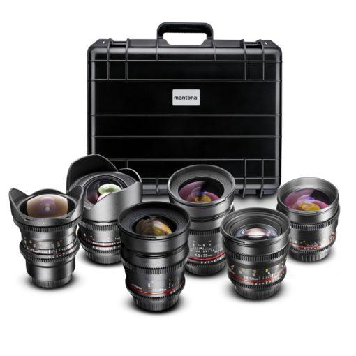 walimex pro Video Fisheye/Portrait-Set für Canon EF
