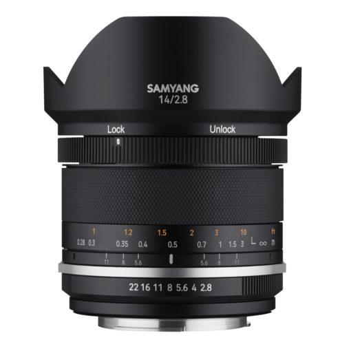 Samyang 14/2,8 Mk II für Canon EF