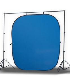 Jumbo 2in1 Falthintergrund grün/blau 240×240cm