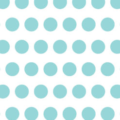 Savage Aqua Polka Dots Printed Background Paper