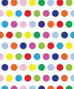 Rainbow Sprinkle Printed Background Paper