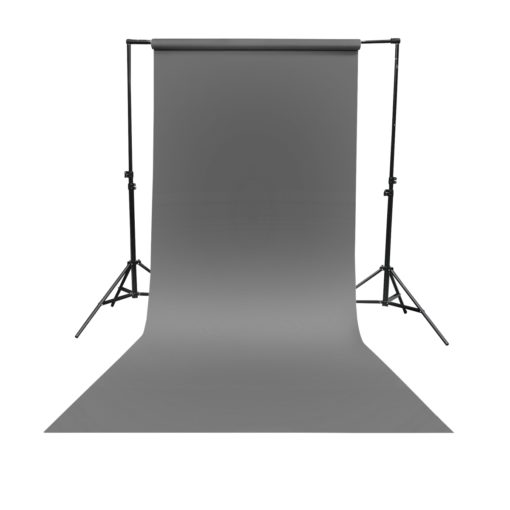 Hintergrundkarton 1,35x10m grau