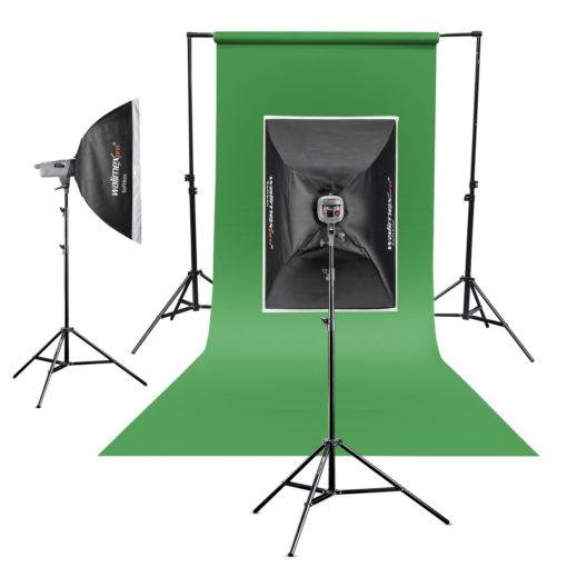 Hintergrundkarton 1,35x10m grün