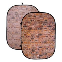 Falthintergrund Ziegelmauer 150x200cm