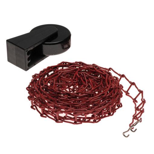 Metallkette rot + Gewicht für Expan