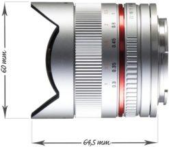 walimex pro 8mm 1:2,8 Fish-Eye II CSC-Objektiv für Sony